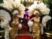 trade show showgirls casino party entertainment team building events activities